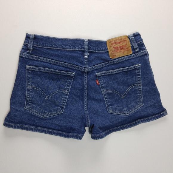 Levi's Pants - Vintage 90's Levi's Mom Shorts Juniors 11 VTG B649